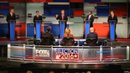 Debate entre los candidatos republicanos en EE.UU.