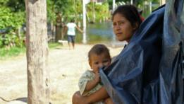 Personas afectadas por inundaciones