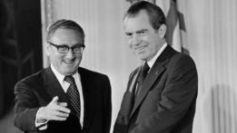 Henry Kissinger y Richard Nixon
