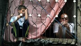 Familia en Gaza