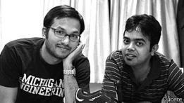 Krispian Lawrence, izq. y Anirudh Sharma, fundadores de Ducere