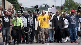 Protesta en Ferguson