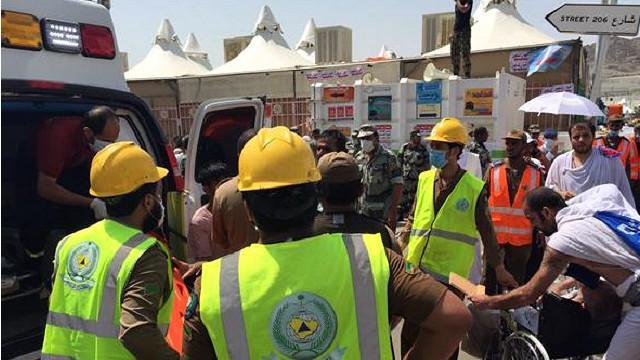 تدافع الحجاج في منى ارتفاع حصيلة حادث التدافع إلى 725 حالة وفاة و 823 إصابة