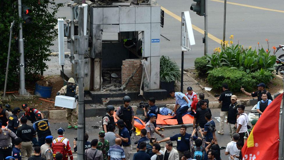 ISIS 'bertanggung jawab atas serangan terorisme di Sarinah'