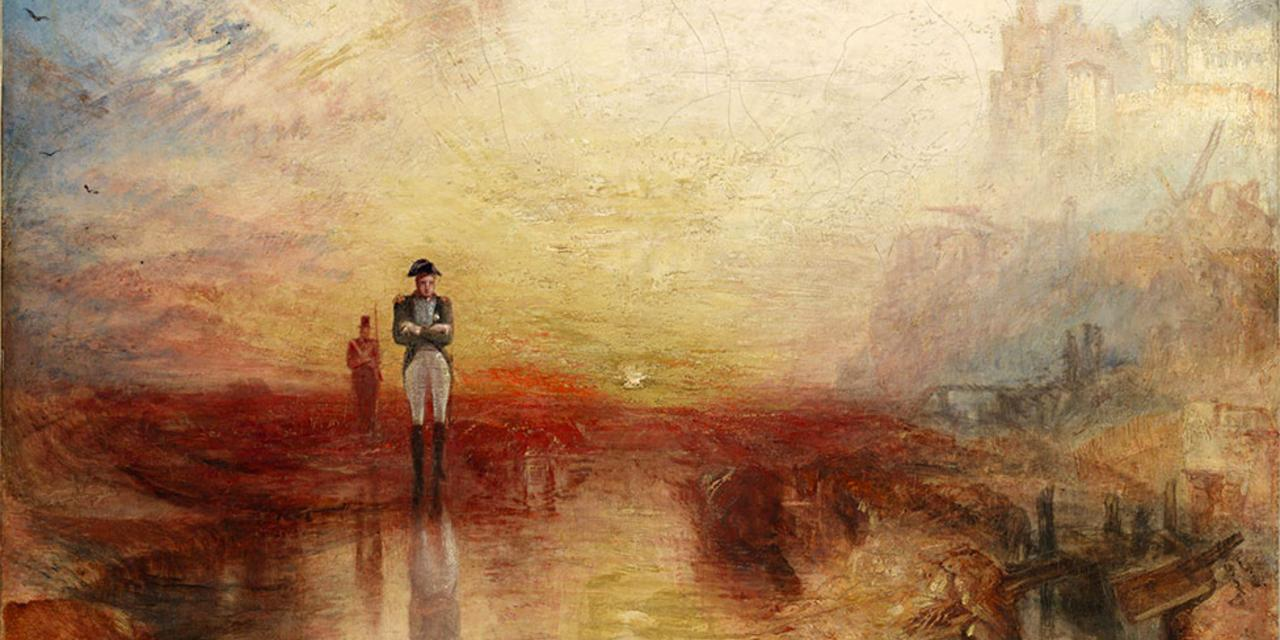 JMW Turner, War: The Exile and the Rock Limpet 1842 (Credit: Accepted by the nation as part of the Turner Bequest 1856)