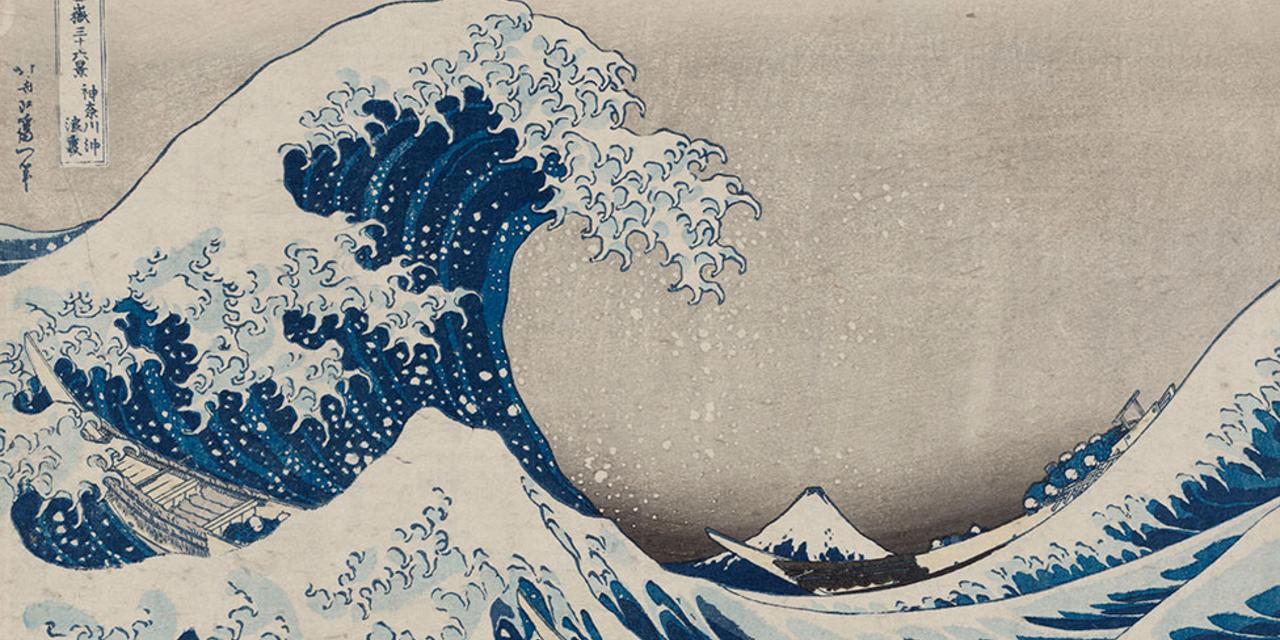 (Credit: Katsushika Hokusai / Museum of Fine Arts, Boston)