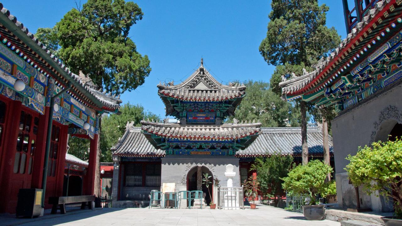 Niu Jie Mosque, Beijing, China (Credit: Amanda Ruggeri)