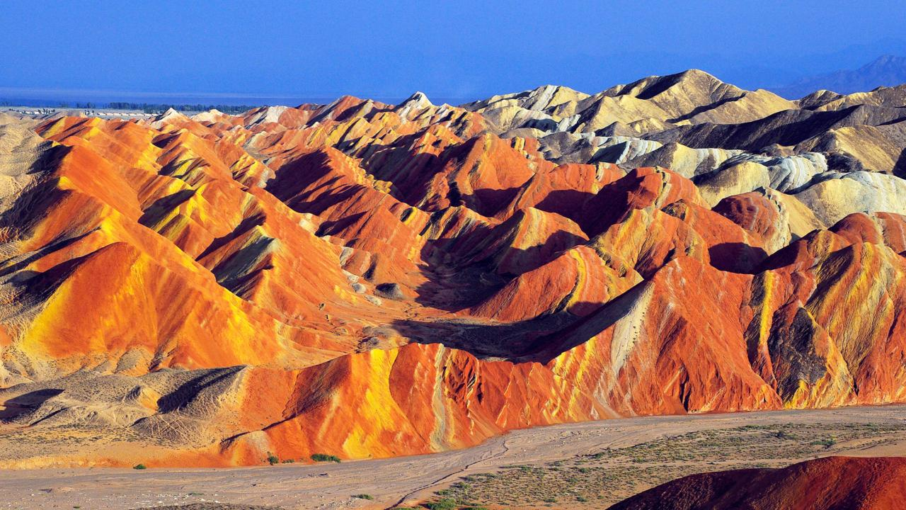 Danxia landforms (Credit: View Stock / Alamy)