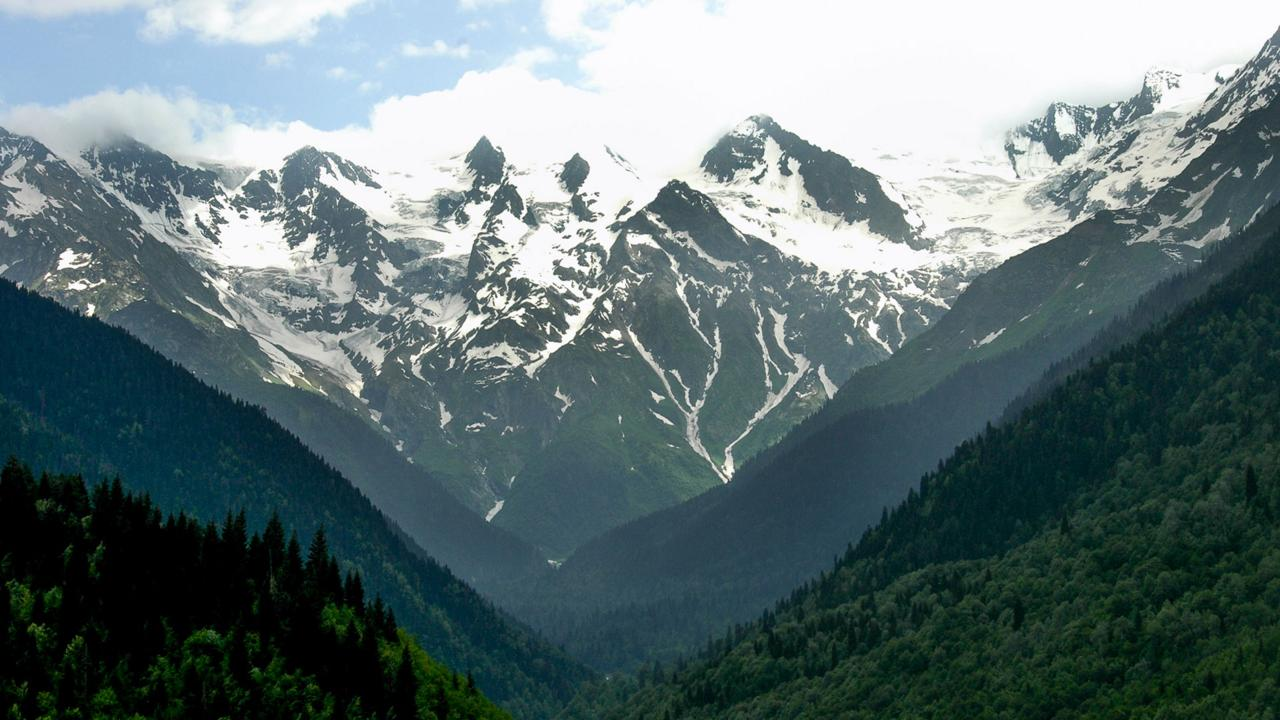 Georgia's high Caucasus Mountains, Svaneti (Credit: Audrey Scott)