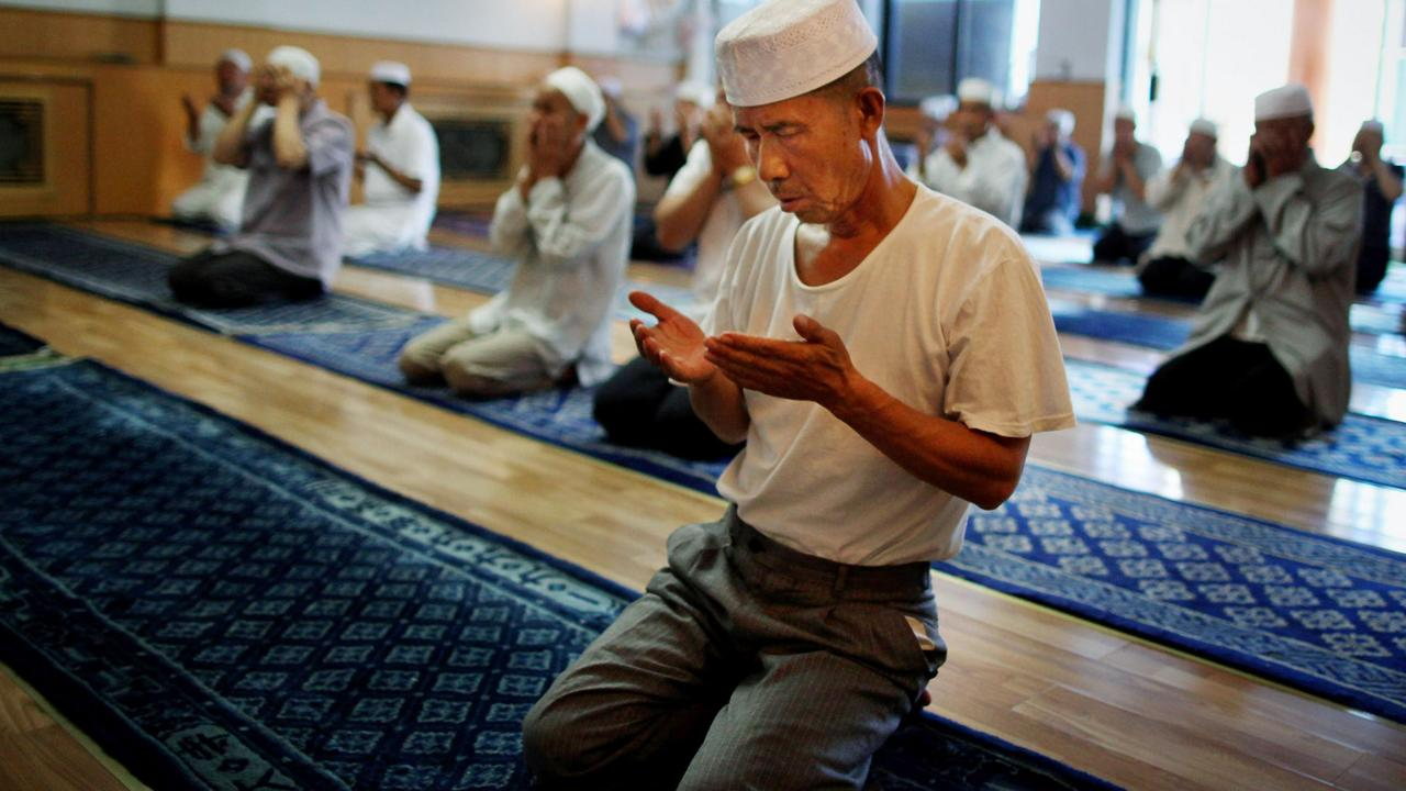 Xi'an, Great Mosque, China, Hui people (Credit: Credit: Feng Li/Getty)