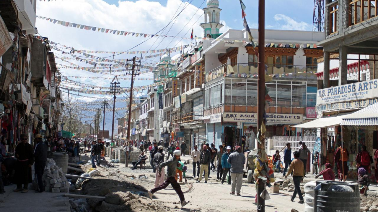 Leh, Ladakh's dusty capital