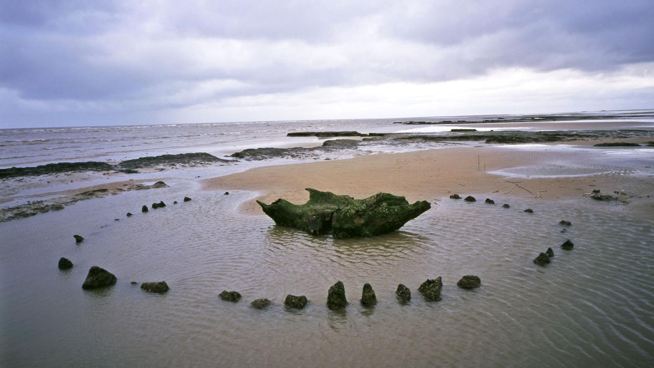 Stonehenge, submerged (Credit: Credit: Edward Parker/Alamy Stock Photo)
