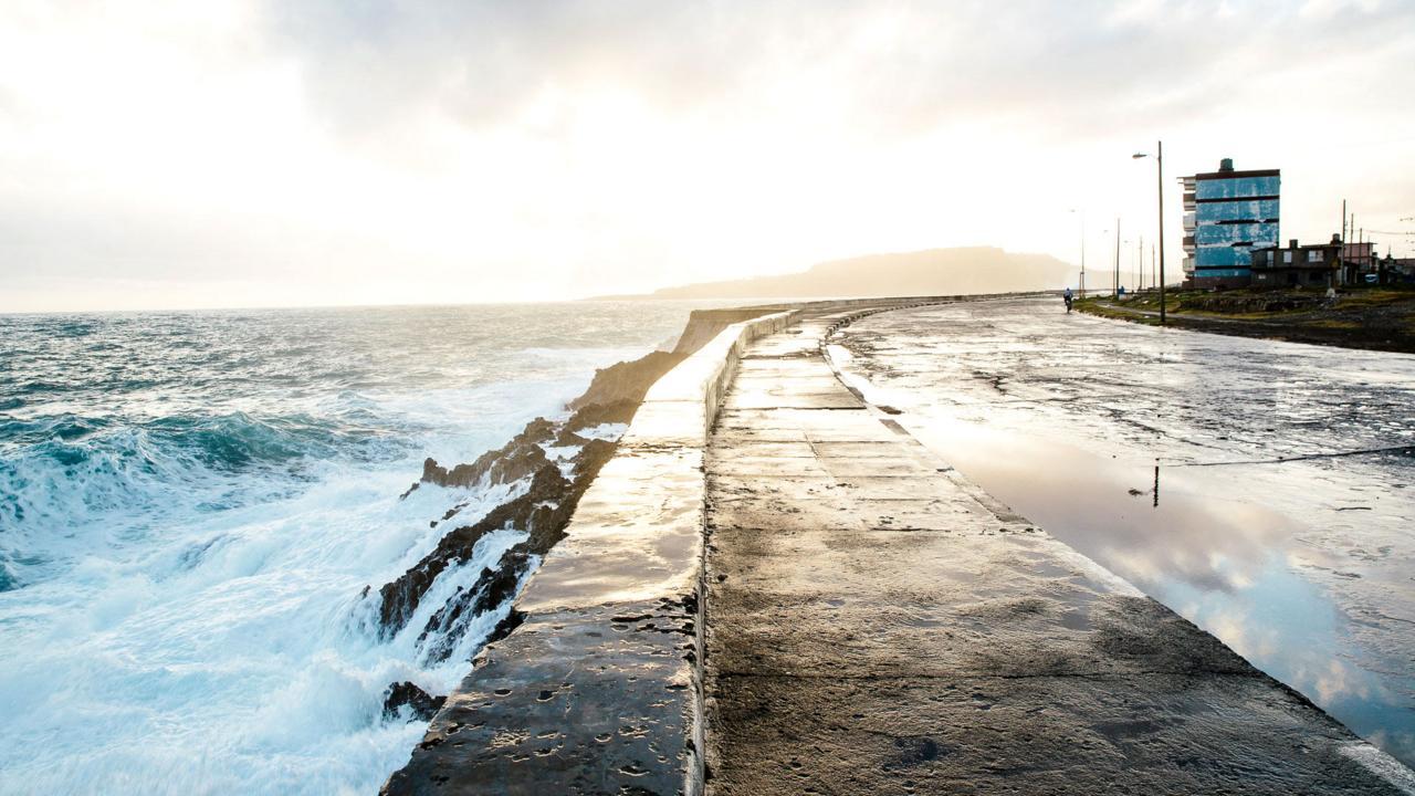 Baracoa's sea-thrashed Malecón (Credit: Credit: Tanveer Badal)