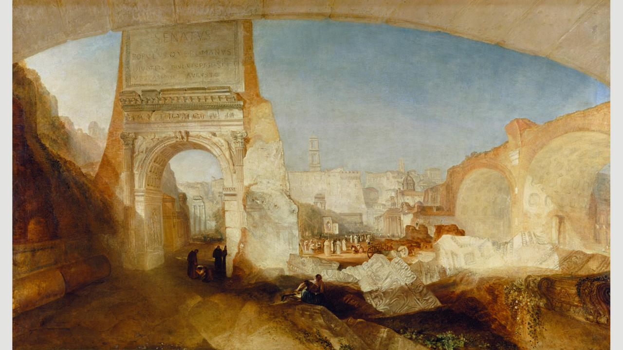 JMW Turner's The Forum Romanum was one result of the painter's Grand Tour