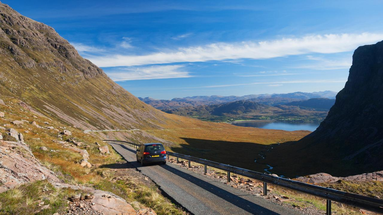 The mountain pass to Applecross (Credit: Credit: Iain Sarjeant/Alamy)