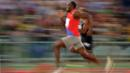 Usain Bolt running the 100 metres (Credit: Copyright: Getty Images)