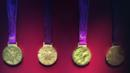 2012 Olympic and Paralympic victory medals, British Museum (Credit: David G Allan)