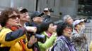 Chinese tourists Wall Street New York (Credit: Christian Science Monitor/Getty Images)