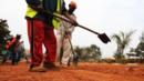 Rwandan road workers in Kigali. (Simon Maina/AFP/Getty Images) (Credit: Simon Maina/AFP/Getty Images)