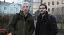Benedict Cumberbatch as Julian Assange and Daniel Bruehl as Daniel Domscheit-Berg (Credit: Photo: AP)