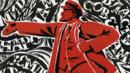 Grpahic image shows Vladimir Lenin (Credit: Copyright: Rex Features)