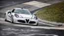 Alfa 4C hits the Nurburgring (Credit: Fiat Group)