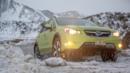 Subaru XV Crosstrek Hybrid in Iceland (Credit: Subaru)