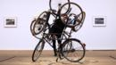 Four Bicycles (there is always one direction) by Mexican Artist Gabriel Orozco (Credit: Getty Images)