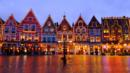 Bruges, Belgium, Europe, Christmas market, Market Square (Credit: Andrea Thompson Photography/Getty)