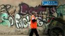 Graffiti in Beijing (Credit: Getty)