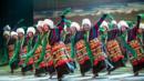 Tibetan dancers at the 2012 Ethnic Minorities Arts Festival in Beijing (Corbis) (Credit: Corbis)