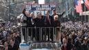 Fans line the streets for the New York Giants' Super Bowl Victory Parade (Getty Images) (Credit: Getty Images)