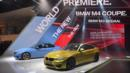 2015 BMW M3 sedan and M4 coupe (Credit: Stan Honda/AFP/Getty Images)