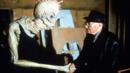 Burroughs with a Mugwump on the set of Naked Lunch in 1991. (Photos 12/Alamy) (Credit: Photos 12/Alamy)