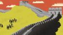 Scaling The Great Wall (Neil Webb/Debut Art) (Credit: Neil Webb/Debut Art)