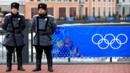 Police security patrol in Sochi ahead of the 2014 Winter Olympics (Getty) (Credit: Getty)