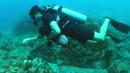 Henry Golding diving in Thailand