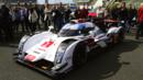 Audi R18 e-tron Quattro visits Le Mans (Credit: Audi Sport, via Newspress)