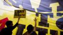 A group of artists protesting in Paris. (Lionel Bonaventure/AFP/Getty Images) (Credit: Lionel Bonaventure/AFP/Getty Images)