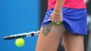 Czech tennis player Karolina Pliskova's tattoo. (Mark Kolbe/Getty Images) (Credit: Mark Kolbe/Getty Images)