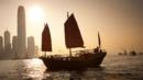 A junk in Hong Kong Harbour (Credit: Alamy)