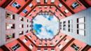Octagonal courtyard of Quartier Schutzenstrasse in Berlin. (Giorgio Magini/Getty) (Credit: Giorgio Magini/Getty)