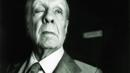 Borges at the front door of his apartment in Buenos Aires, 1983 (Getty Images) (Credit: Getty Images)