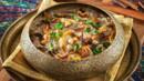 Harees (savoury porridge), Dubai, UAE, Emirati cuisine (Credit: Credit: Simon Reddy/Alamy)