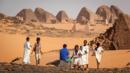 Kabushiya, pyramids of  Meroe, Sudan (Credit: Credit: Vivien Cumming)