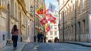 Geneva, Old Town, Switzerland, flags, Rue de l'Hotel-de-Ville (Credit: Credit: Michał Ludwiczak/Thinkstock)