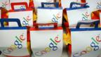 Google bags in Mountain View campus
