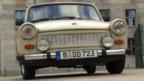Touring Berlin in a Trabant