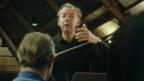 Benjamin Britten conducting