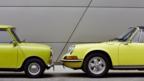 Classic Mini meets classic Porsche